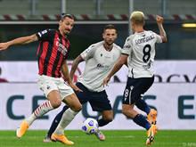 Zlatan Ibrahimović war wieder einmal der entscheidende Faktor