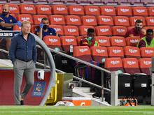 Trainer Ronald Koeman glaubt trotz des Abganges von Luis Suarez an einen motivierten Messi