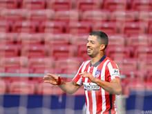 Luis Suárez feiert einen erfolgreichen Einstand