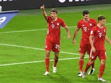 Die Bayern erkämpfen sich den Sieg gegen Borussia Dortmund