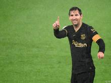 Lionel Messi ist in Spiellaune