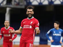 Mohamed Salah erzielte seinen 100. Treffer für Liverpool