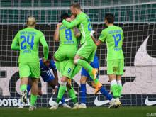 Die Wolfsburger bleiben damit weiter ungeschlagen