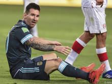 """Lionel Messi ist müde """"für jedes Problem verantwortlich zu sein"""""""