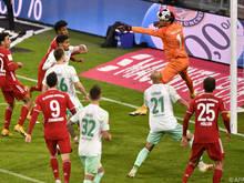 Kingsley Coman rettet den Bayern einen Punkt