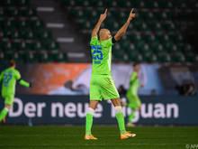 DIe Wolfsburger bleiben in der Liga weiterhin ungeschlagen
