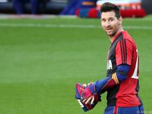 Messi ehrte sein verstorbenes Idol und wurde dafür bestraft