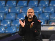 Pep Guardiola würde lieber vor Publikum spielen lassen