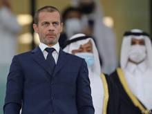 UEFA-Boss Ceferin sieht Fußballgemeinschaft enger zusammengerückt