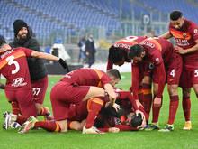 Rom gelang spät der Ausgleich gegen Inter