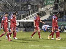 Die Bayern-Profis können das Triple nicht mehr verteidigen