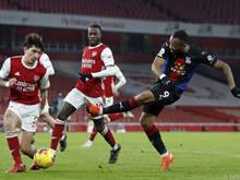 Arsenal kam gegen Crystal Palace nicht über ein torloses Remis hinaus