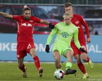 Xaver Schlager und Co. holten gegen Leipzig einen Punkt