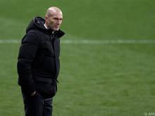 Real-Coach Zidane redet die Cup-Pleite klein