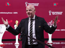 Der FIFA-Präsident positioniert sich gegen die Super-League-Pläne