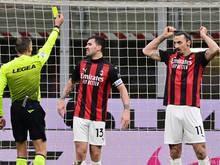 Ibrahimovic sah zwei unnötige Gelbe Karten und wurde ausgeschlossen