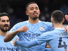 Manchester City jubelt weiter über die Tabellenführung