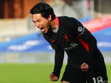 Takumi Minamino soll bis Saisonende für Southampton jubeln (Archiv)