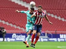 Koke kassierte mit Atlético eine überraschende Niederlage