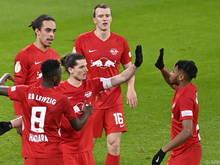 Sabitzer erzielte bei Leipzigs 3:0-Sieg gegen die Hertha das Führungstor