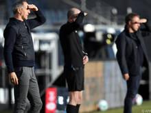 Hütter hat mit der Eintracht Tabellenführer Bayern München in Sichtweite