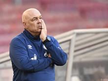 Die Tage von Christian Gross bei Schalke scheinen gezählt