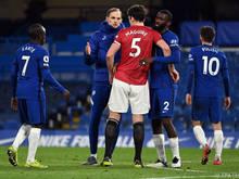 Nullnummer zwischen Chelsea und Manchester United