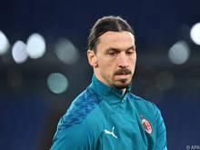 Zlatan Ibrahimović wird seinem Klub wohl länger fehlen