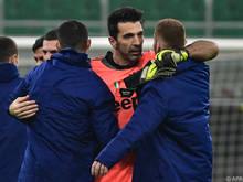 Gianluigi Buffon denkt aktuell noch nicht ans Aufhören