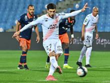 Adrian Grbic trifft per Elfmeter für Lorient