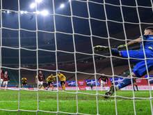 Franck Kessie bewahrt Milan mit Elfmeter vor einer Heimniederlage