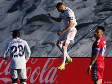 Karim Benzema schoss sein Team zum knappen Sieg