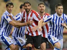 """Real Sociedad setzte sich im """"Basken-Duell"""" durch"""