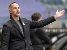 Adi Hütter weist den Weg in Richtung Champions League