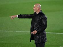Real-Trainer Zinédine Zidane will seinem Team den Weg zum Titel weisen