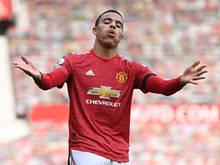 Der 19-jährige Mason Greenwood glänzte für United mit einem Doppelpack