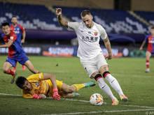 Arnautovic war zum Super-League-Start in Schusslaune