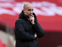 City-Coach Guardiola visiert im Liga-Cup-Finale ersten Saisontitel an