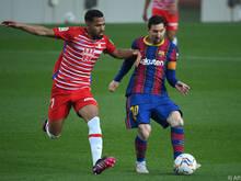 Messi brachte Barcelona gegen Granada in Führung