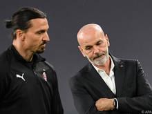Ibrahimovic (l.) fehlt seinem Coach in den nächsten zwei Spielen