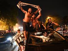 Der Lockdown hielt die Beşiktaş-Fans nicht vom Feiern ab
