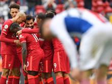 """Sadio Mané traf zweimal für die """"Reds"""" in Anfield"""