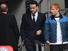Ed Sheeran ist Trikotsponsor beim englischen Drittligisten