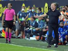 Koeman steht bei Barcelona vor dem Aus
