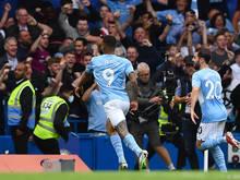 Jubelstimmung bei Manchester City