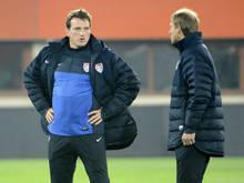 Einst Jürgen Klinsmanns Co, steht Andi Herzog nun vor erstem Cheftrainer-Posten