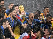 Frankreich erstmals seit Mai 2002 wieder Weltranglistenführender