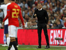 Luis Enrique stand erstmals bei Spanien an der Seitenlinie