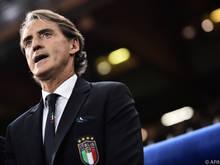 Italiens Teamchef Roberto Mancini ist bereits angezählt
