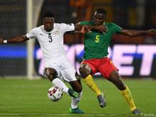 Kamerun kam nicht über ein 0:0 gegen Ghana hinaus